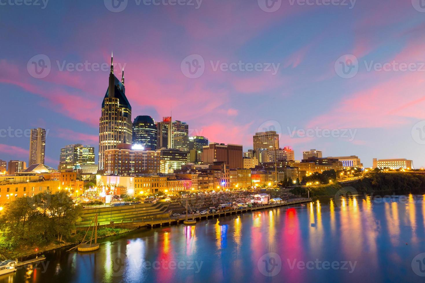 Nashville, Tennessee Downtown foto