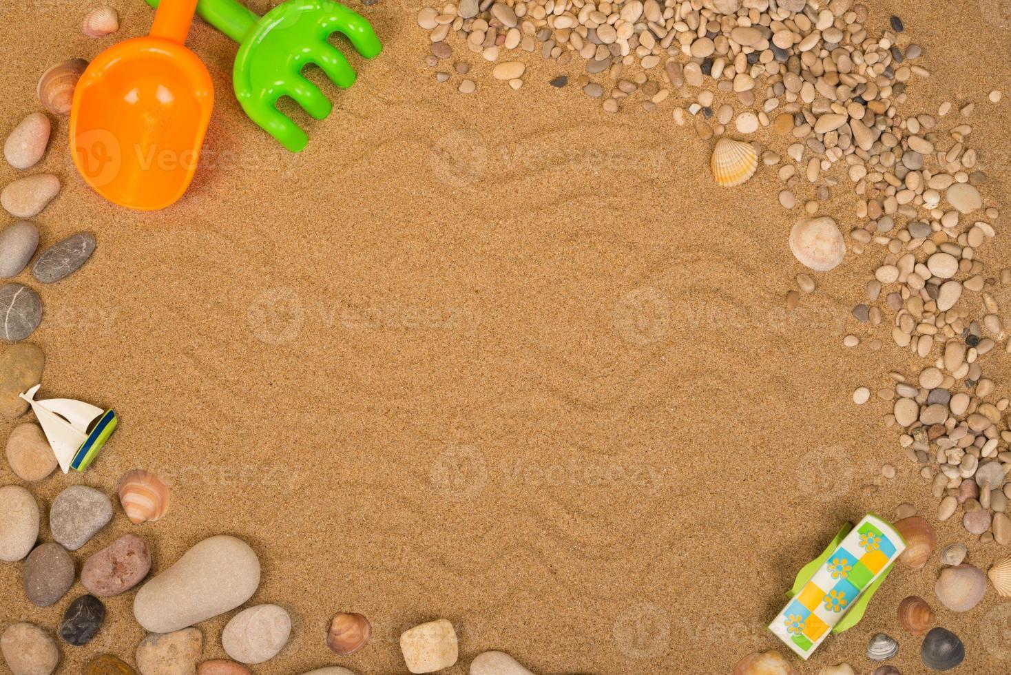 strand achtergrond foto