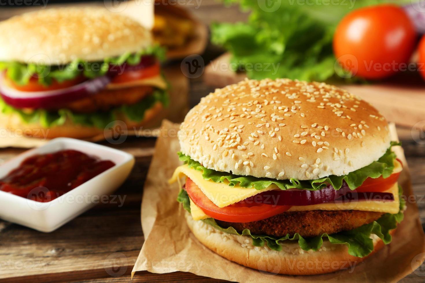 verse burger foto