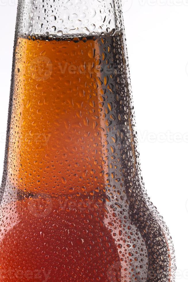 flesje bier - het detail foto