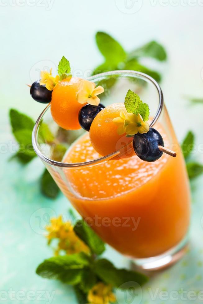 meloen smoothie foto