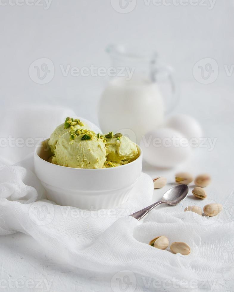 pistache-ijs foto