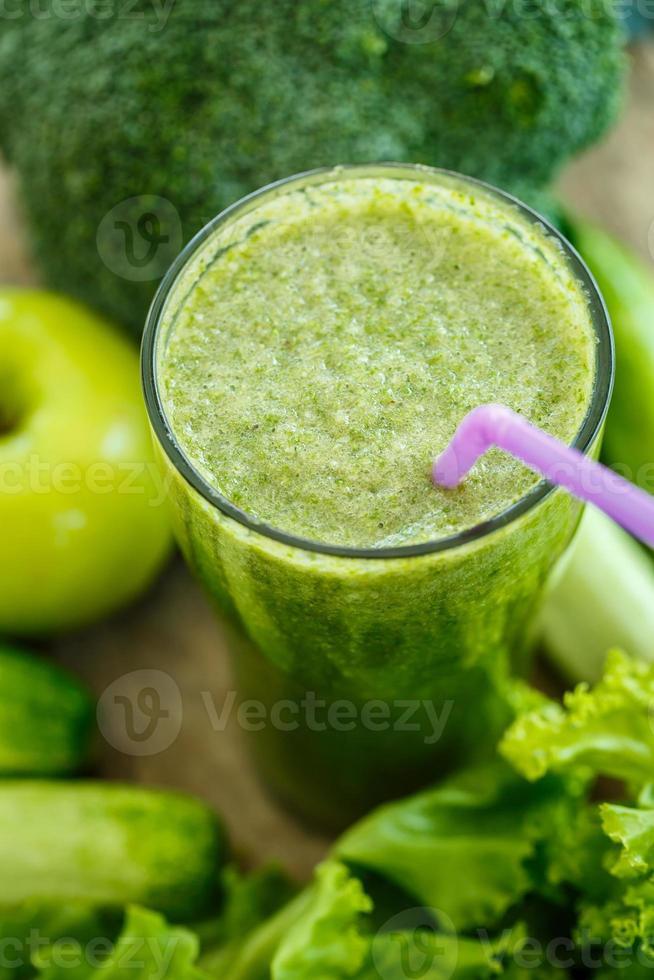 groene smoothies foto