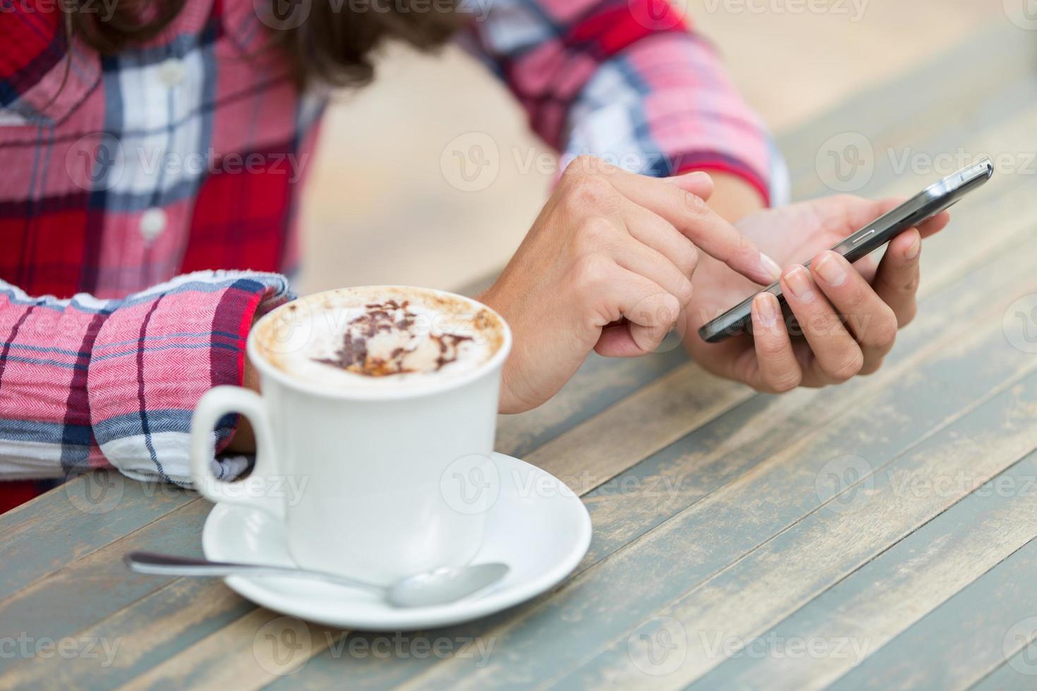 mobiele telefoon sms'en foto