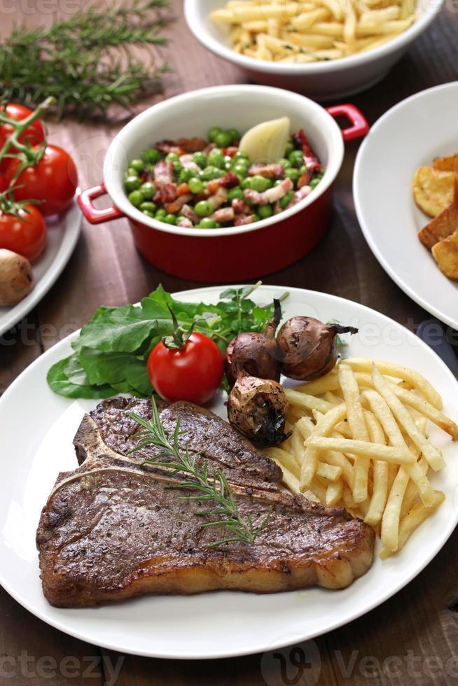 t-Bone steak foto