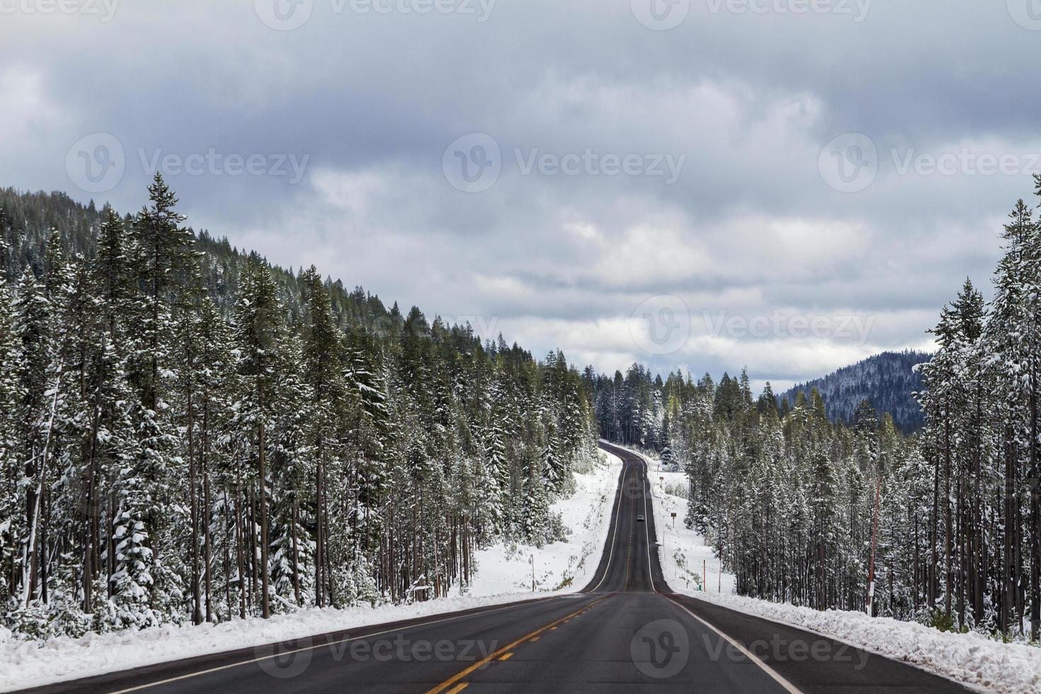 Bergweg foto