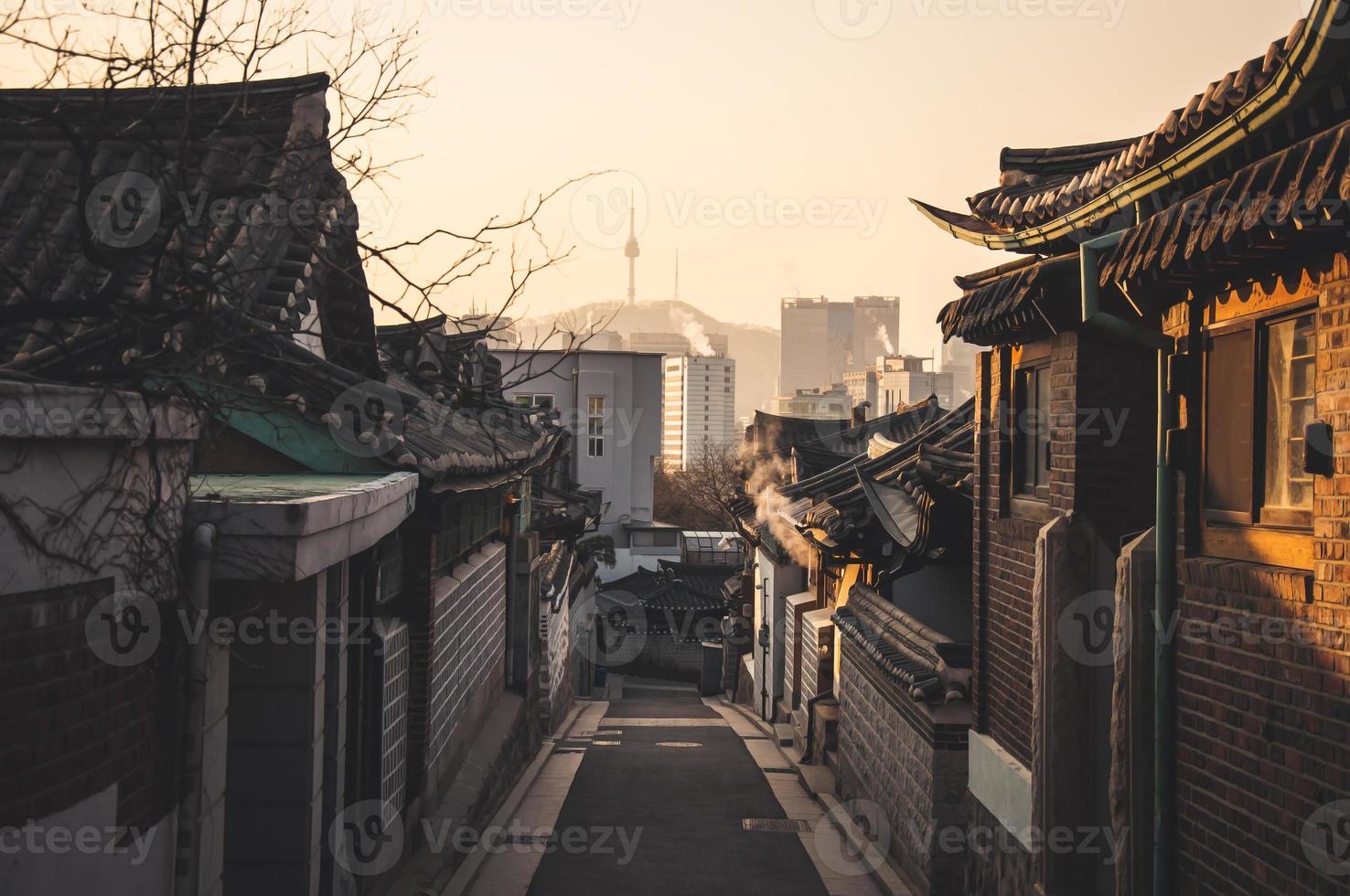 """""""Bukchon hanok"""" historische wijk foto"""