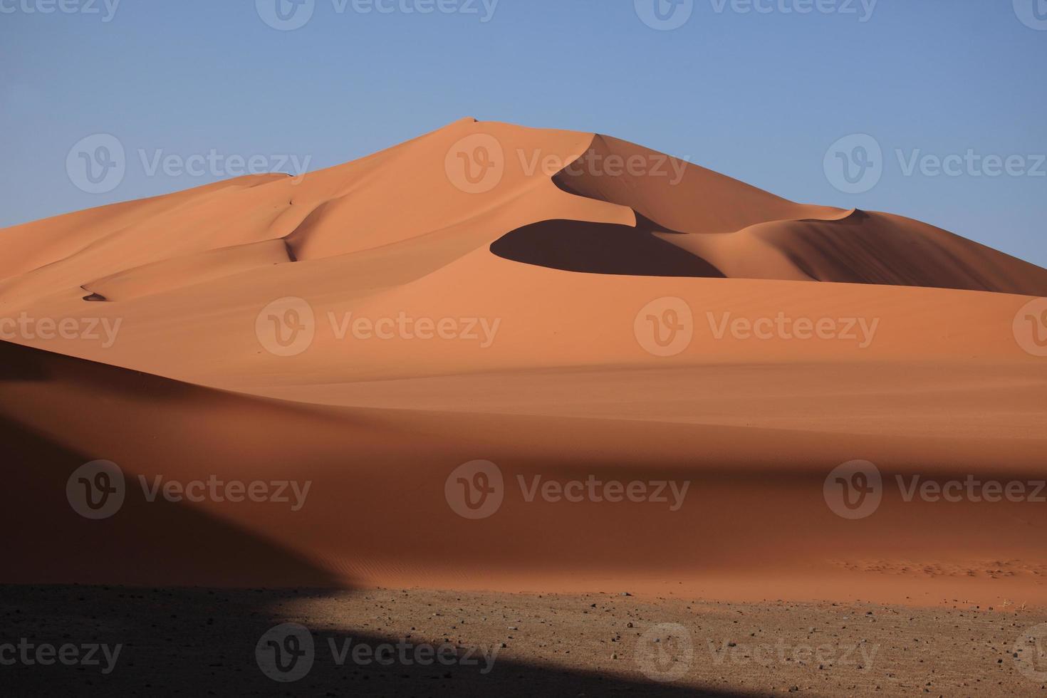 sterven sahara in Algerije foto