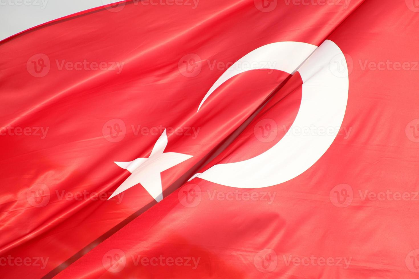 Turkse vlag foto