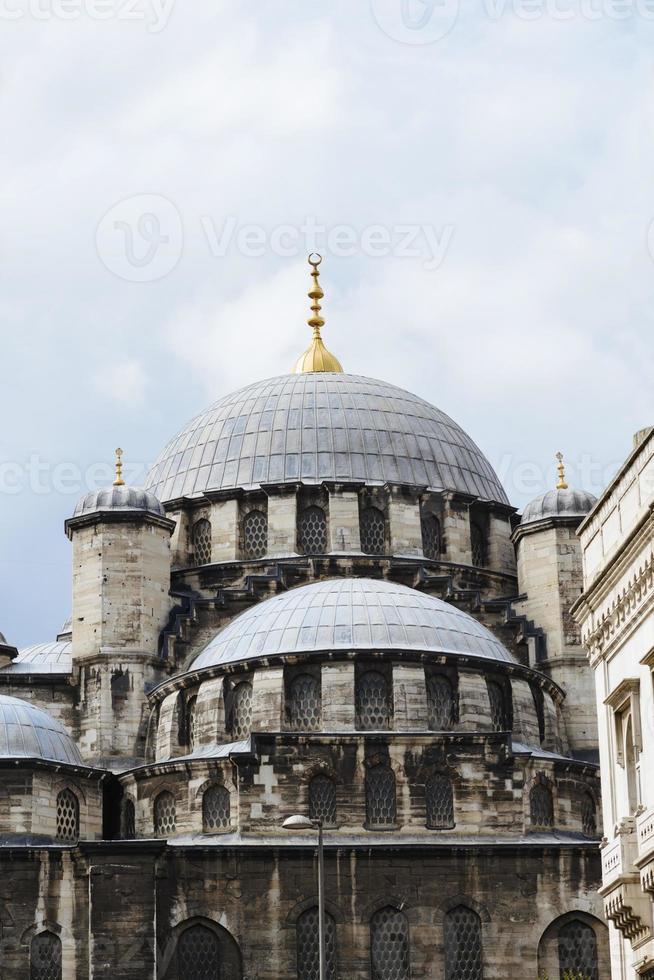 detail van yeni cami (nieuwe moskee), istanbul. foto