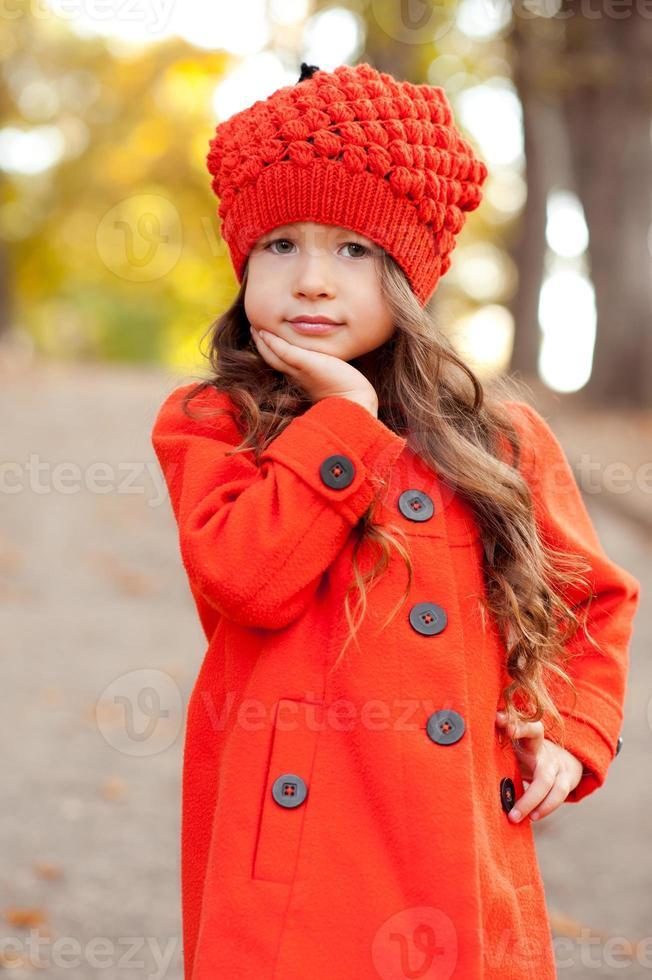 schattig kind meisje foto