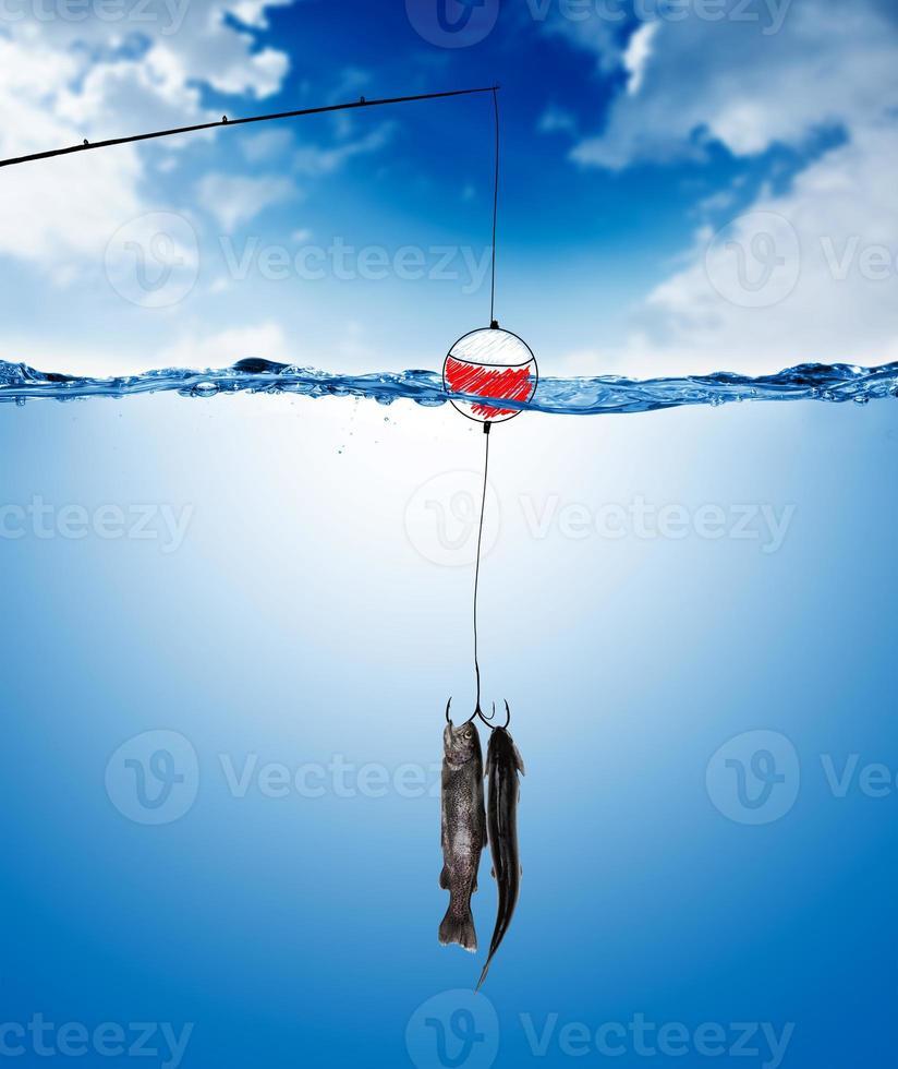visserij concept foto