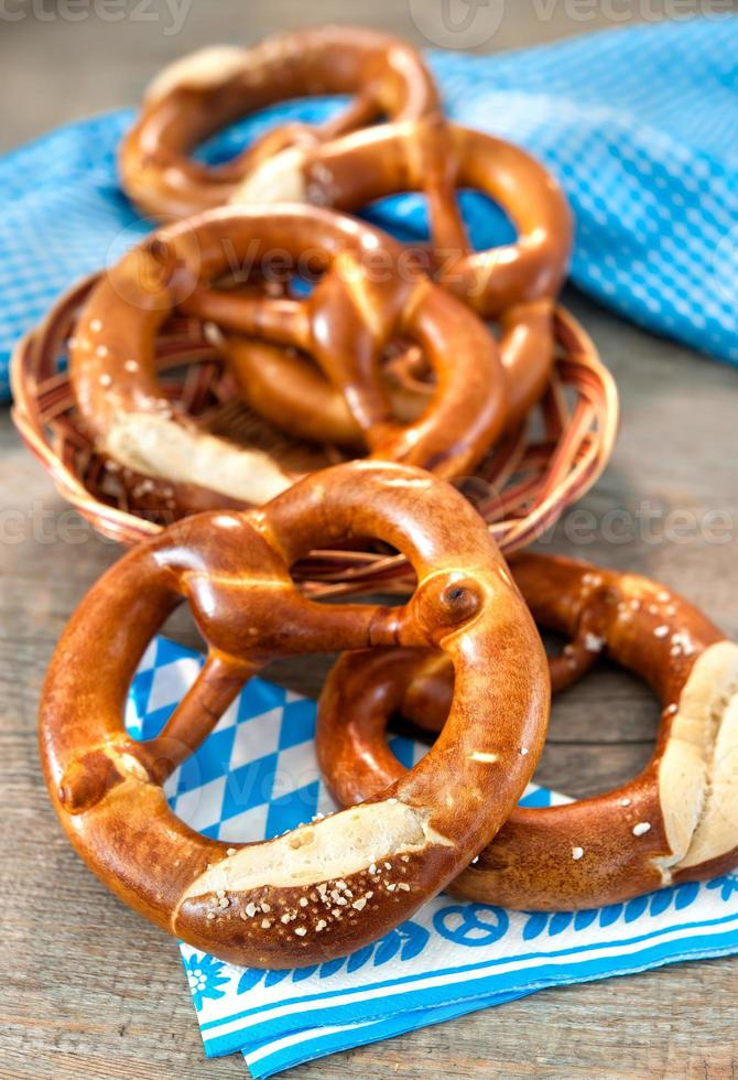 Beierse pretzels foto