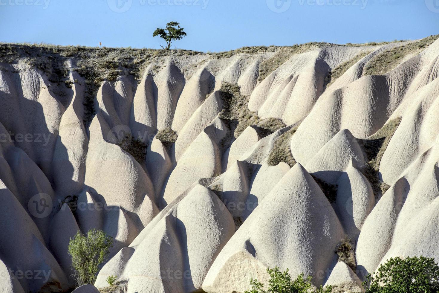 cappadocia, kalkoen, antiek foto