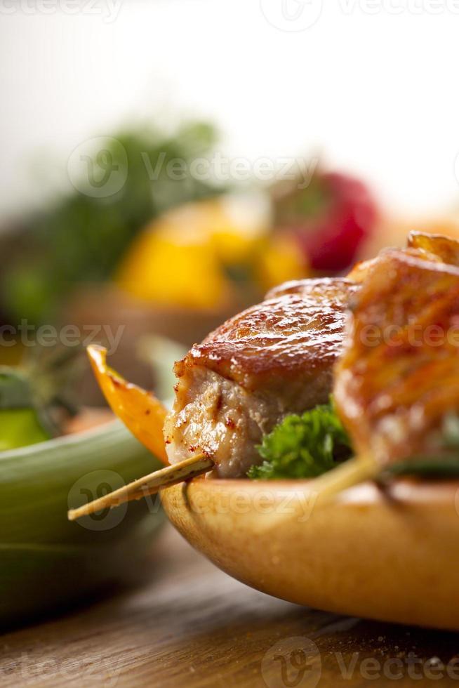 geroosterd vlees foto