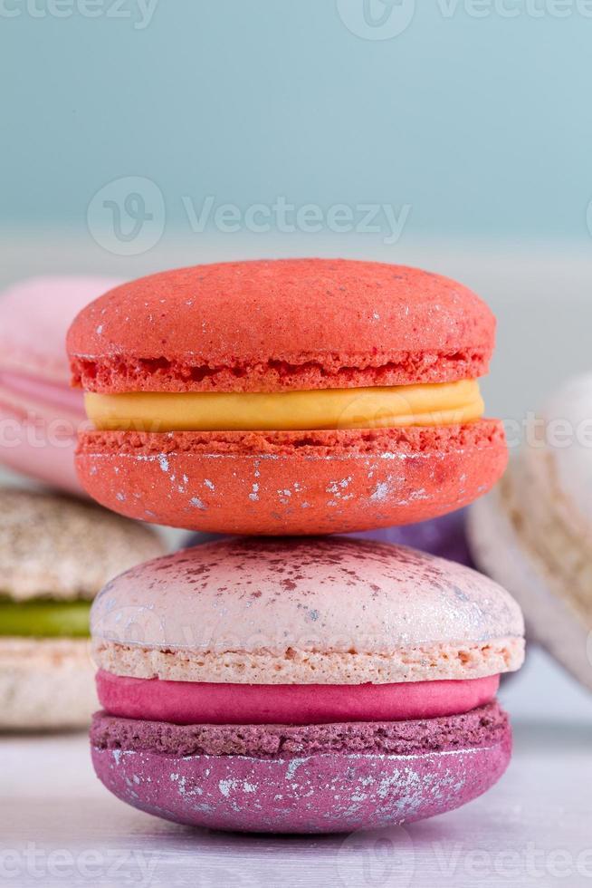 Franse macaron foto