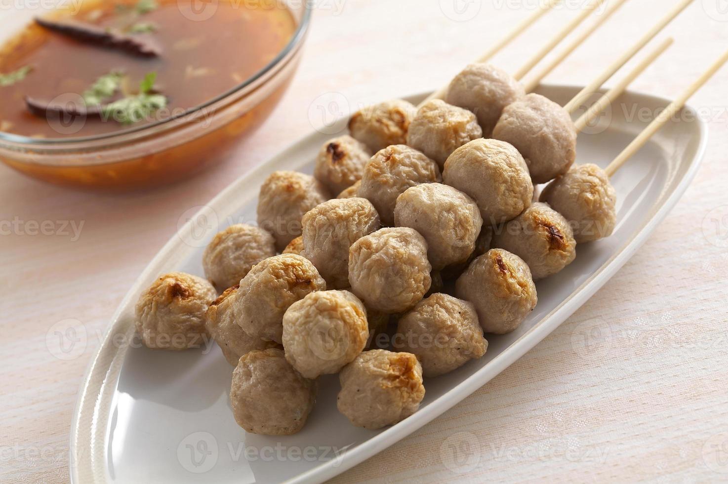 Thaise vleesbal foto