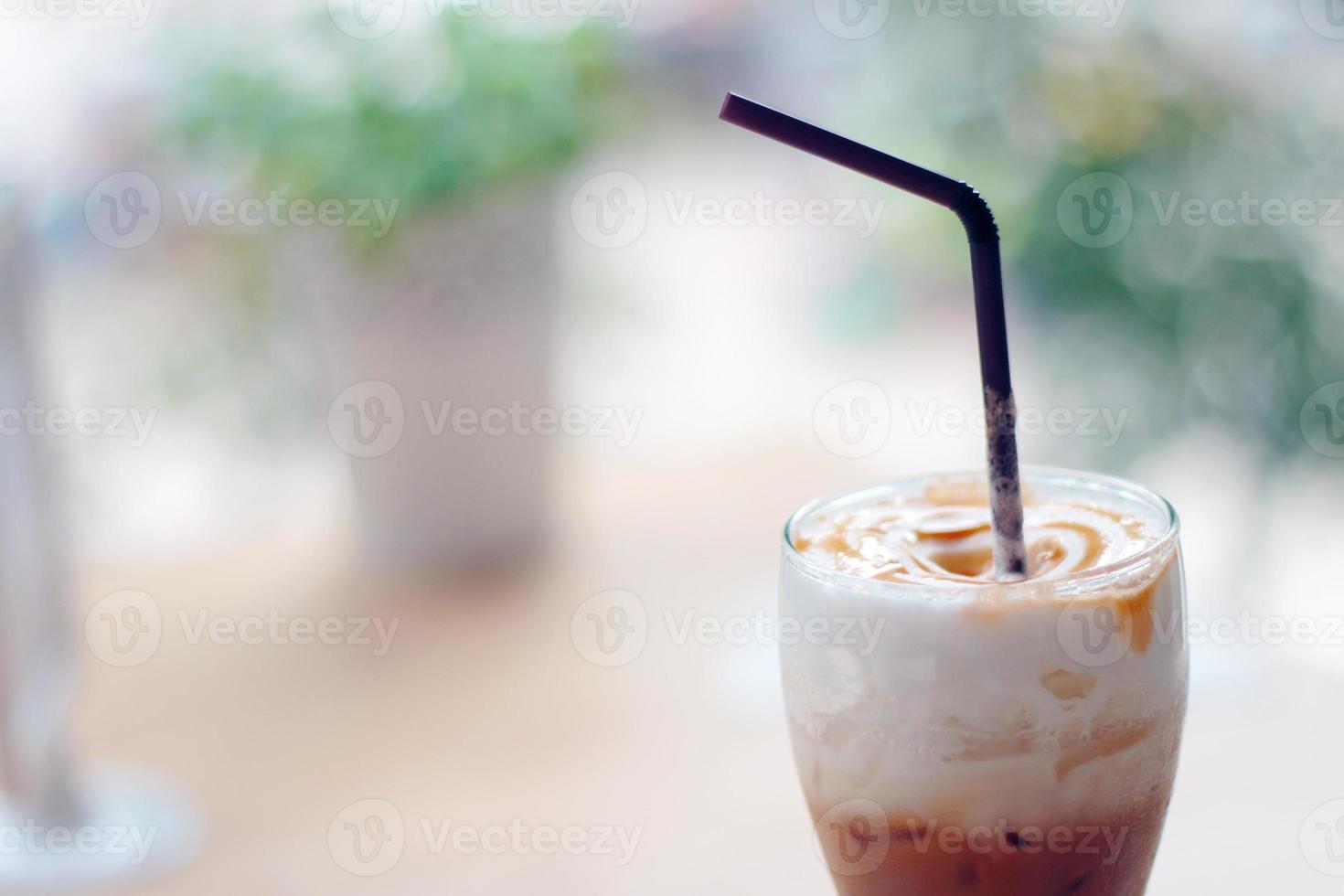 ijskoffie karamel foto