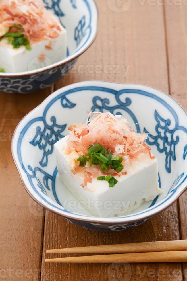 Japanse keuken, hiyayakko foto