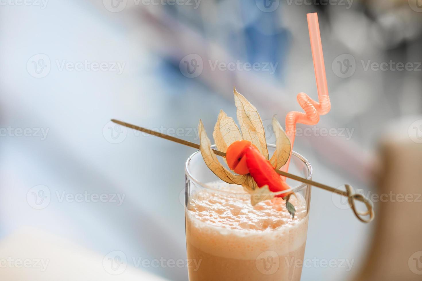 melk cocktail foto