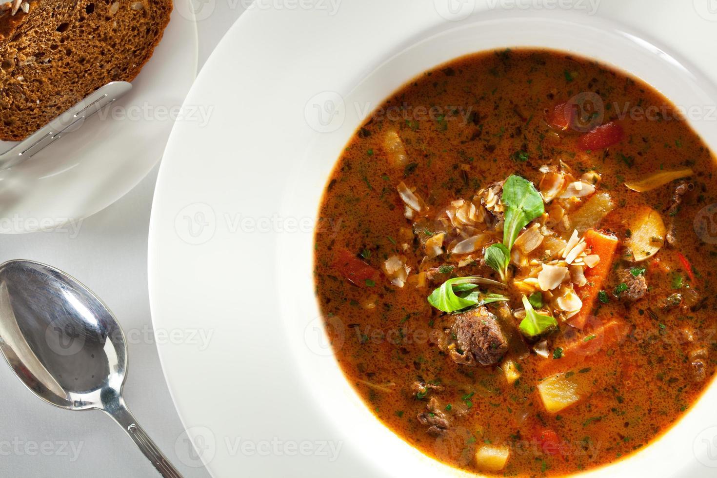 soep goulash foto