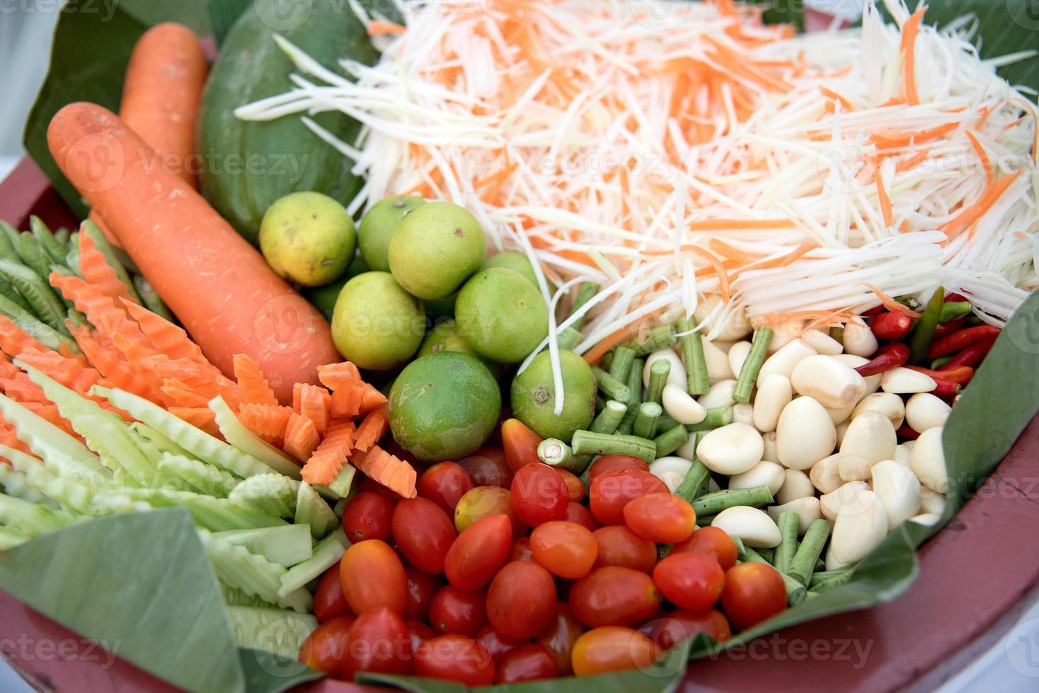 chili, knoflook en gemberwortel foto