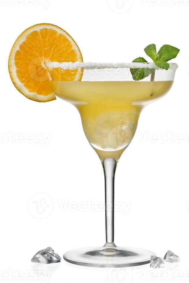 sinaasappelsap in Martiniglas foto