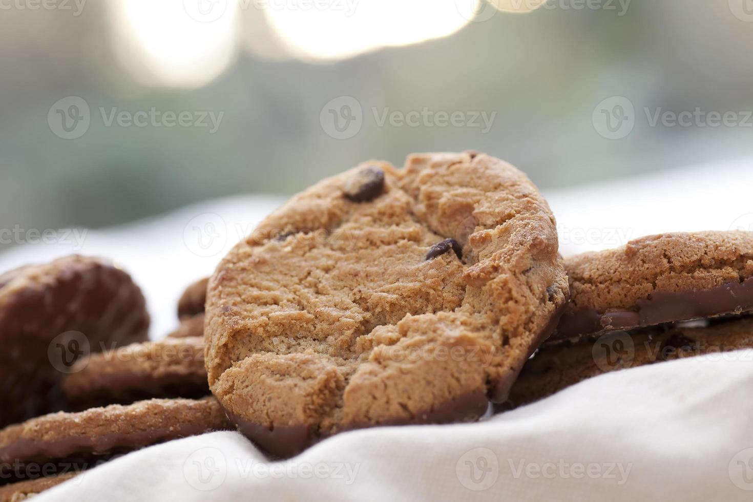 chocolate chip cookies traktatie foto