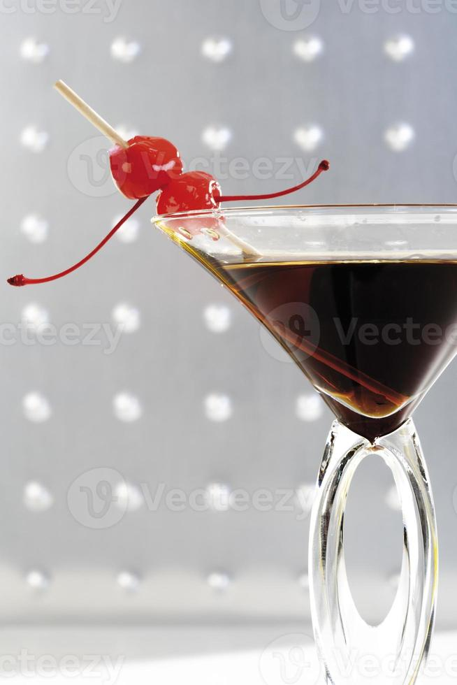 manhattan cocktail, close-up foto