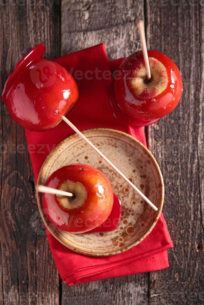toffee appel foto