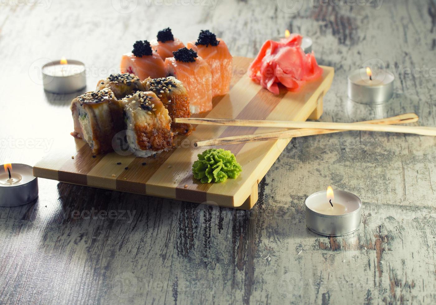 sushi rol foto