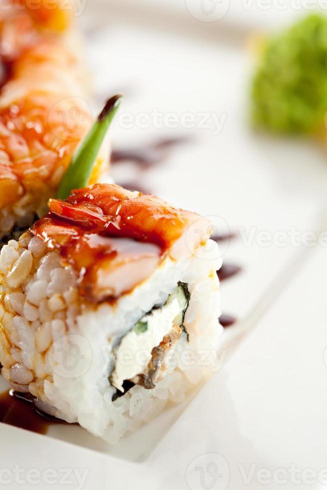 Japanse keuken - sushi foto