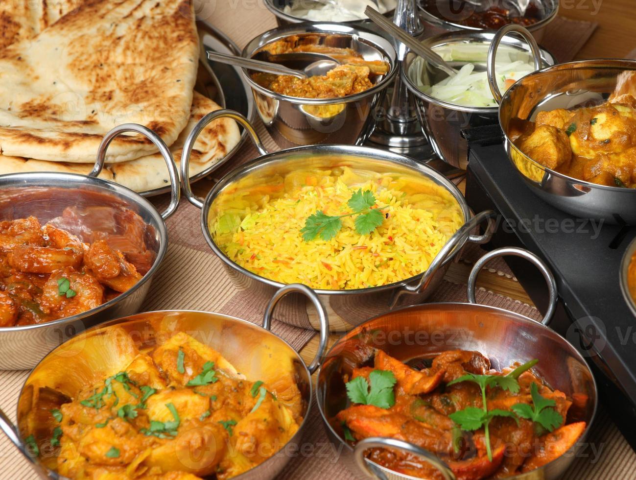 Indiaas eten banket foto