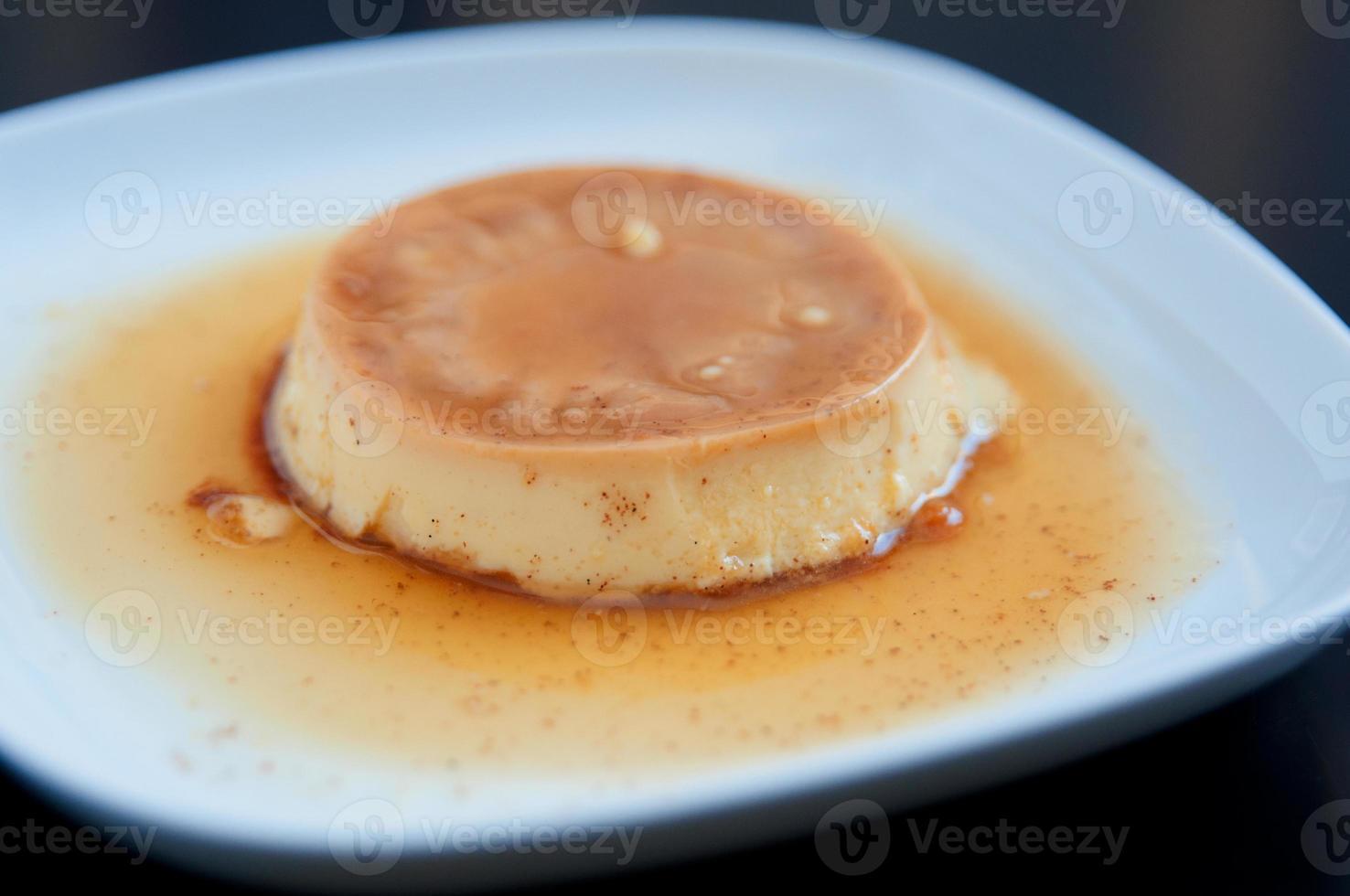 crème caramel foto