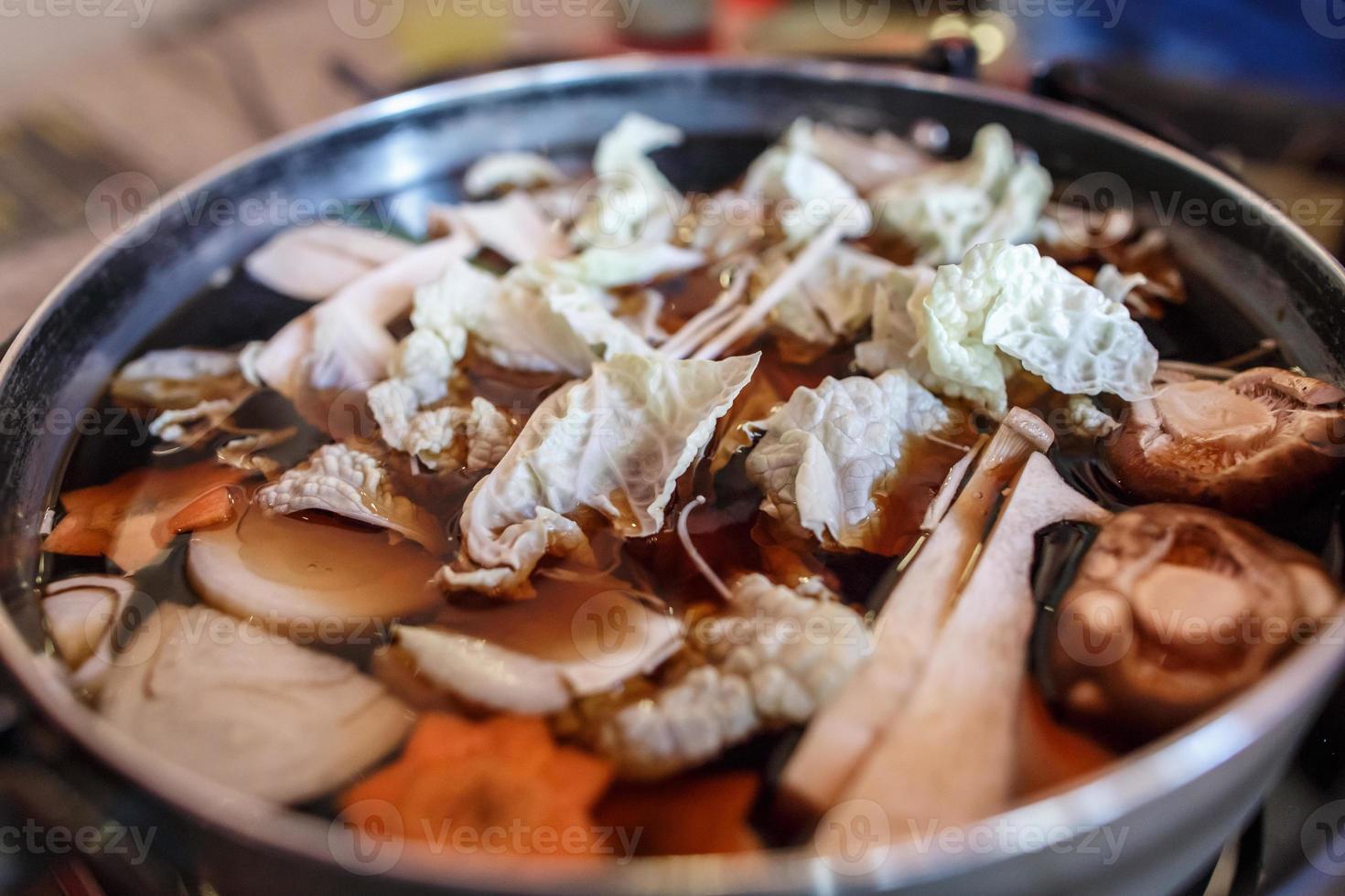 Japanse kookpot foto