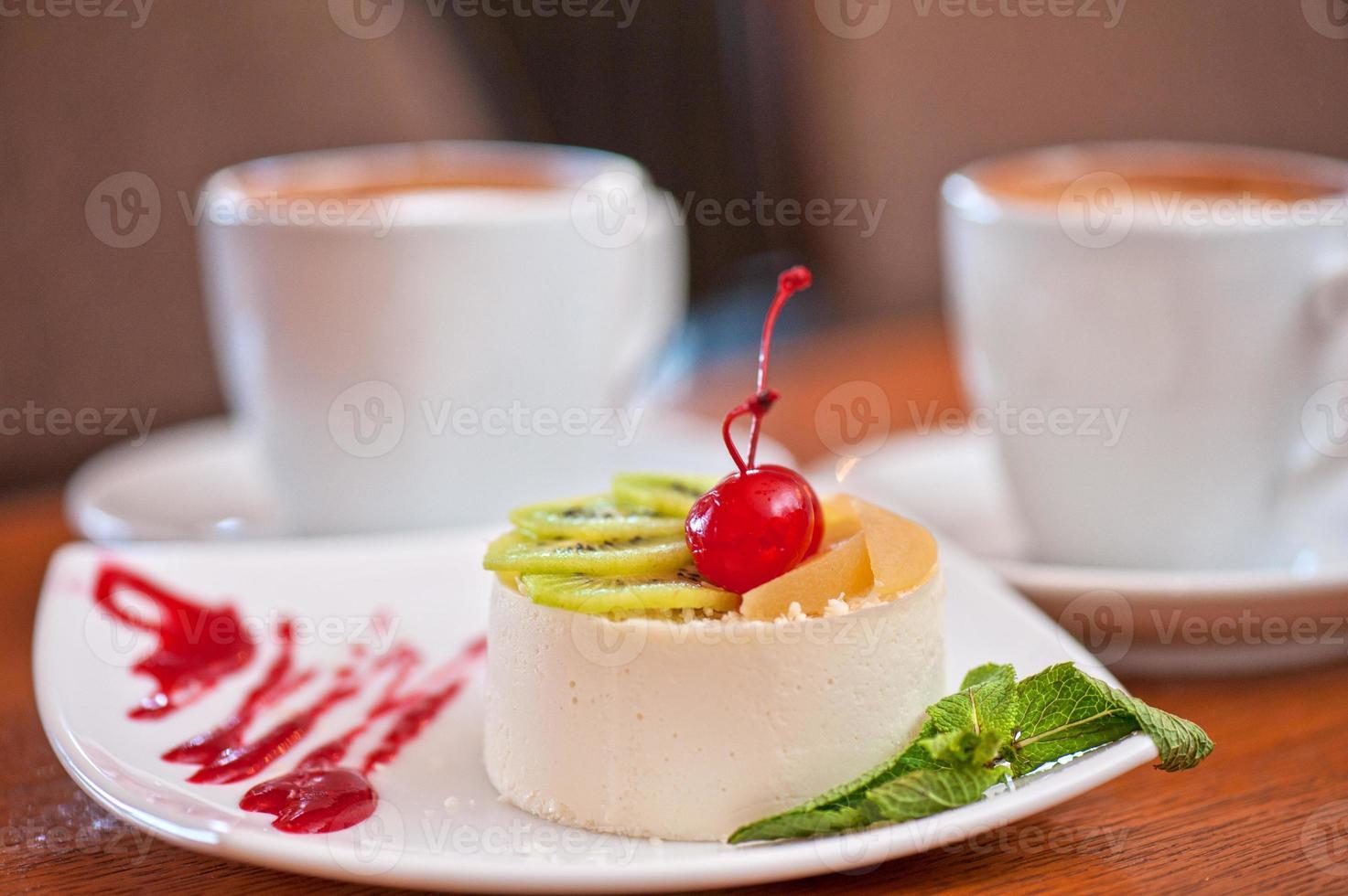 lekker dessert foto