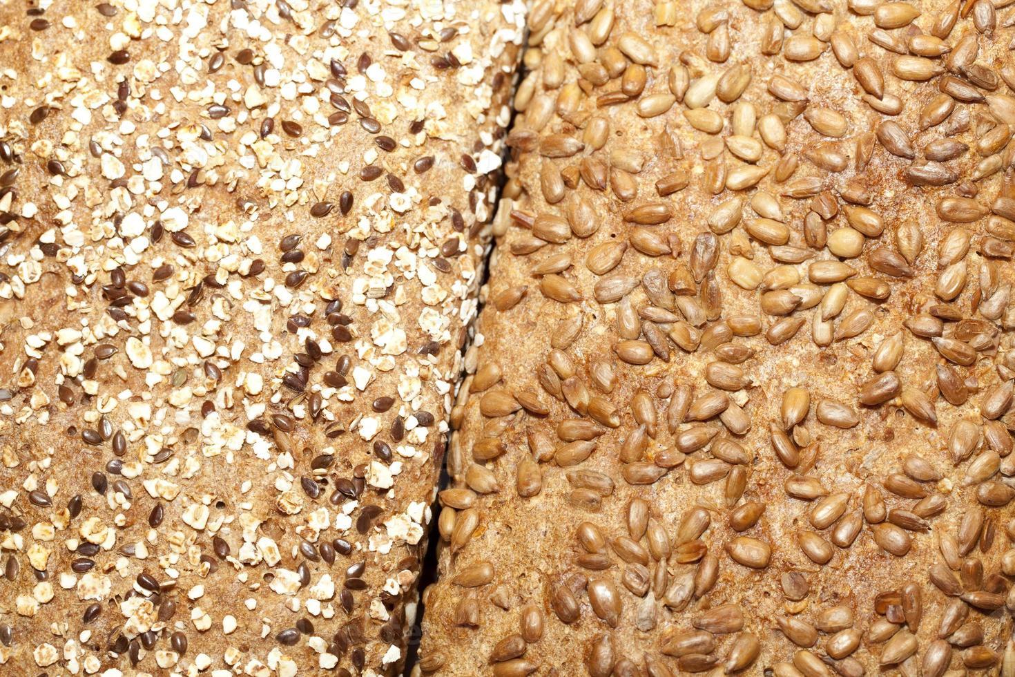 twee soorten brood foto