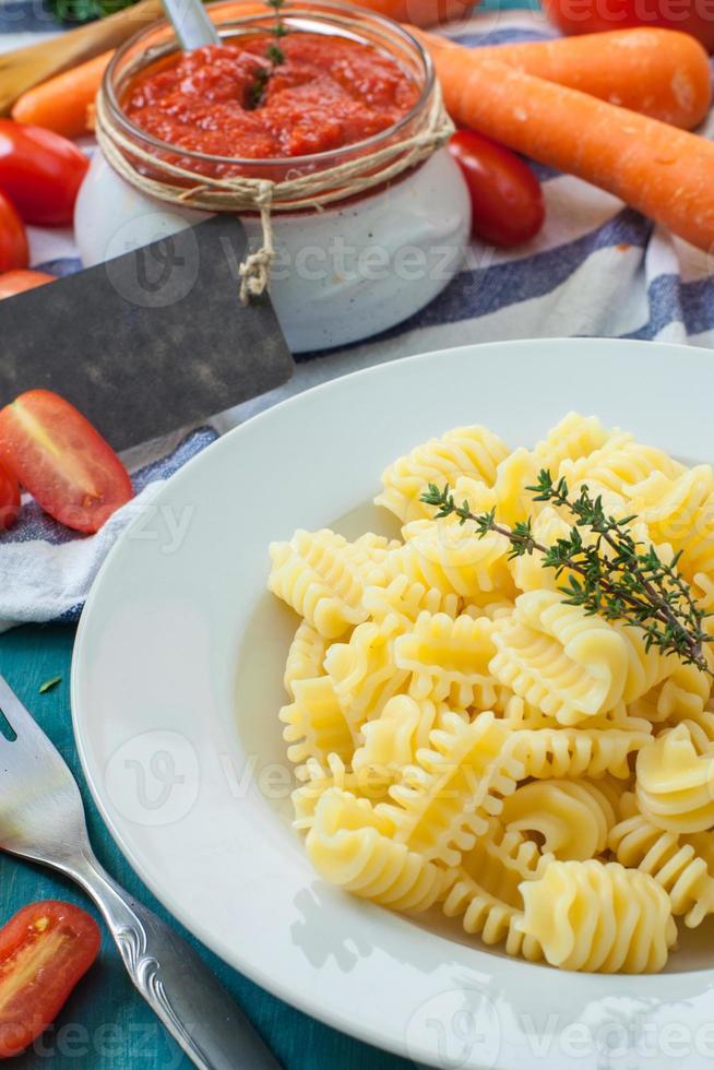 Italiaans eten foto