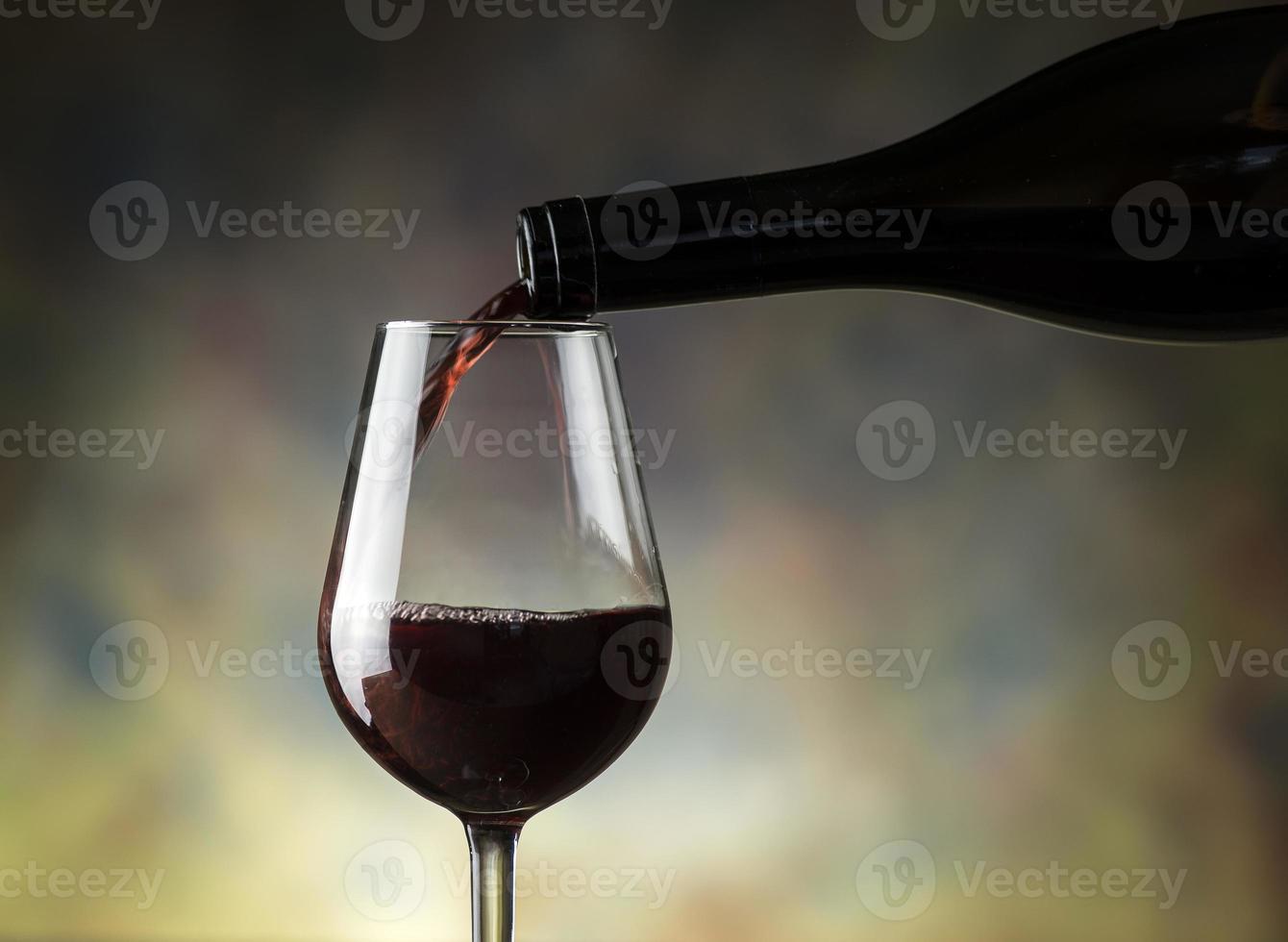 rode wijn foto