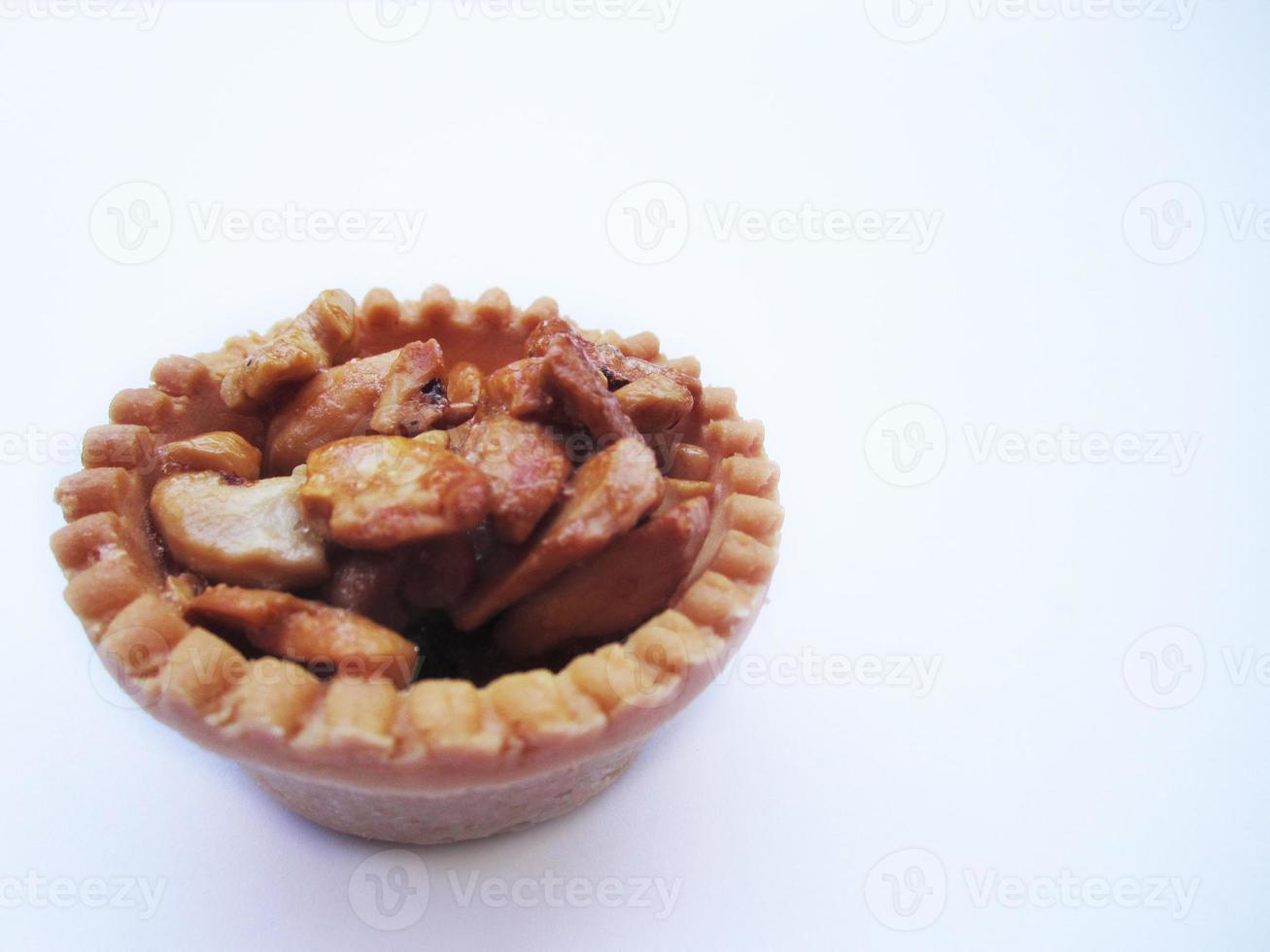 taart met cashewnoten foto