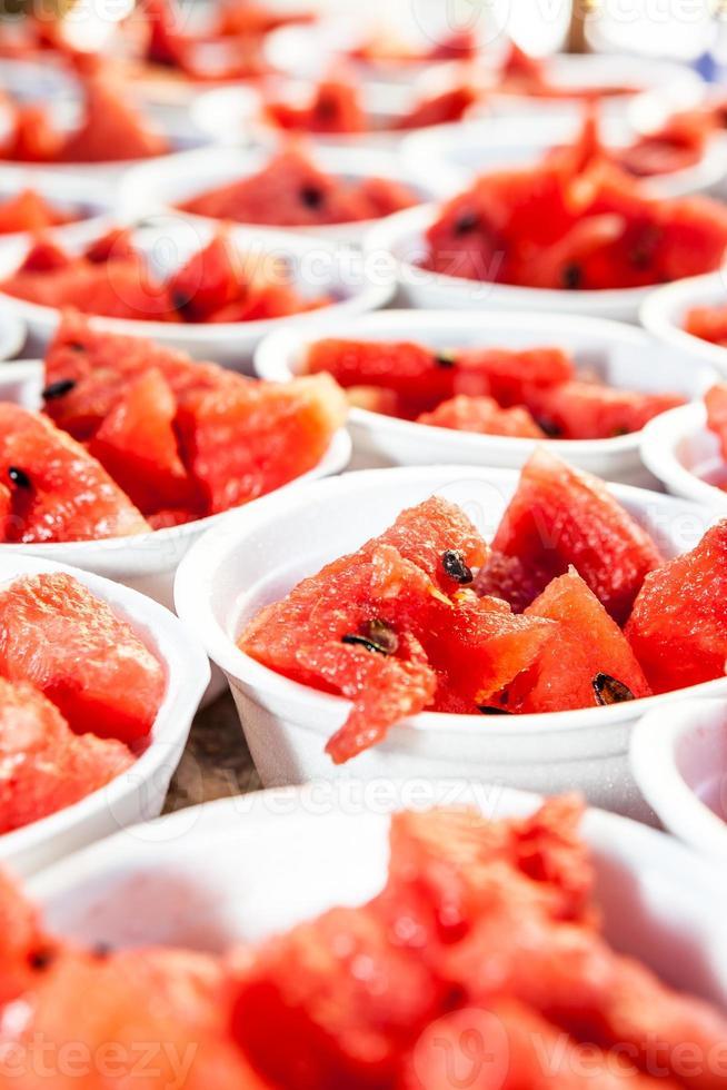watermeloen in isomobox foto