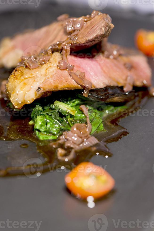 vlees - gegrilde entrecote foto