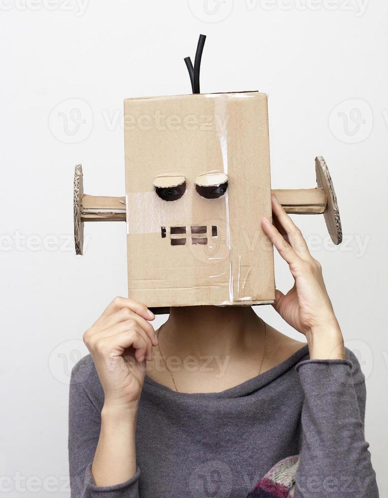robot meisje. foto