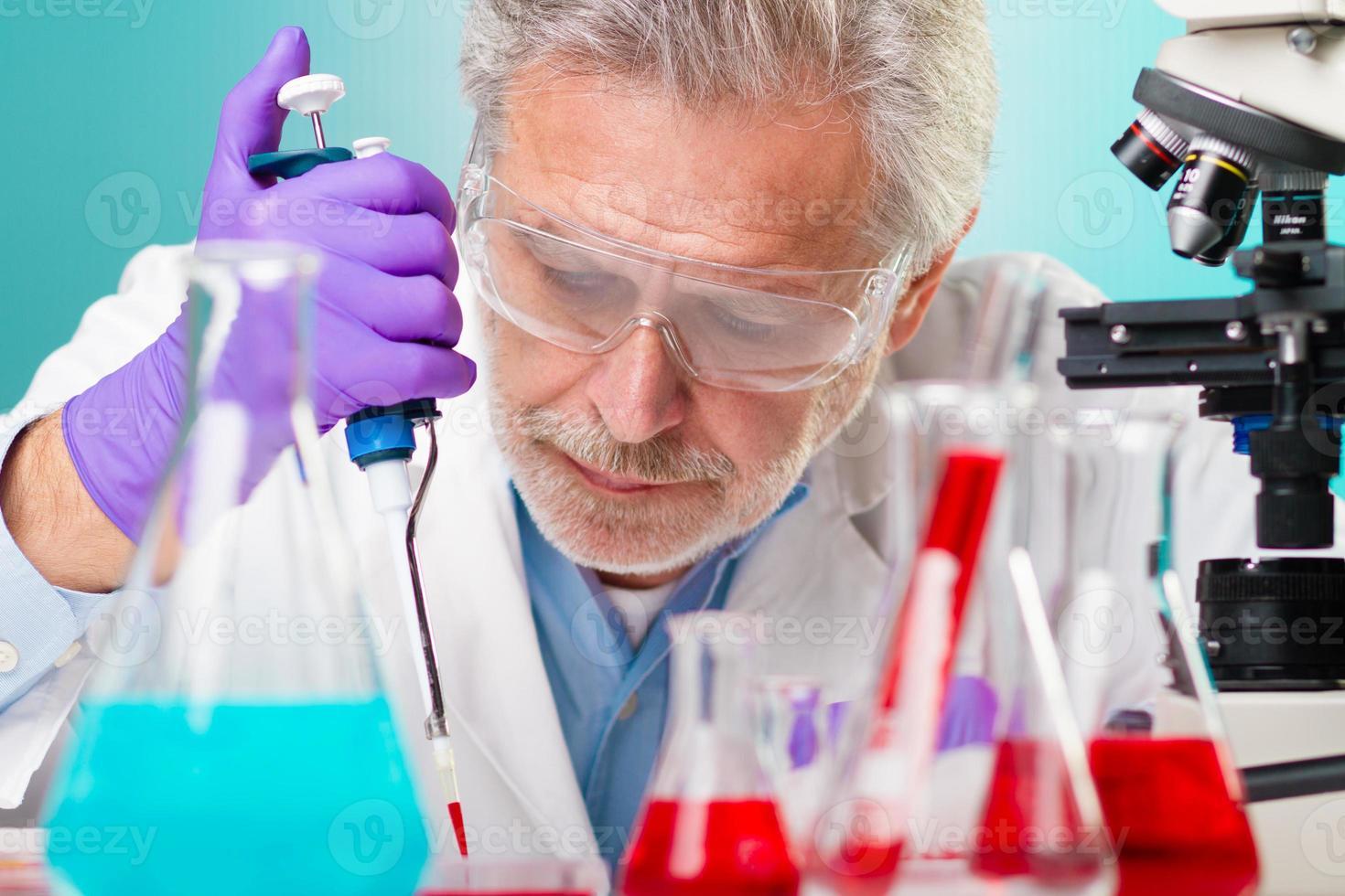 biowetenschappelijk onderzoek. foto