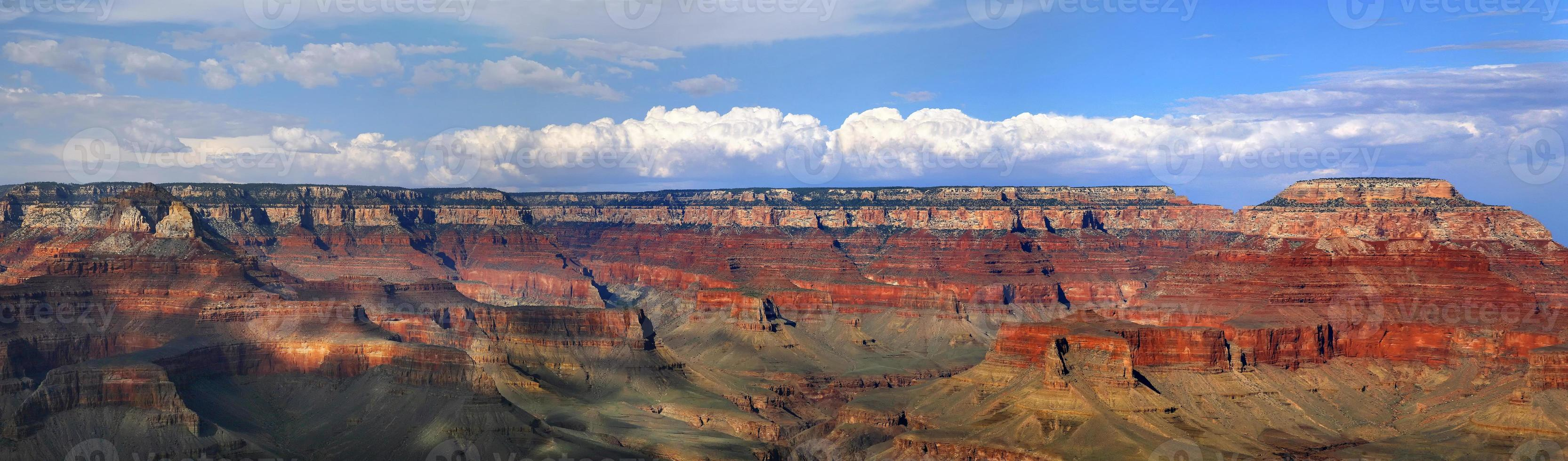 nationaal park grand canyon (zuidrand), arizona usa - landschap foto