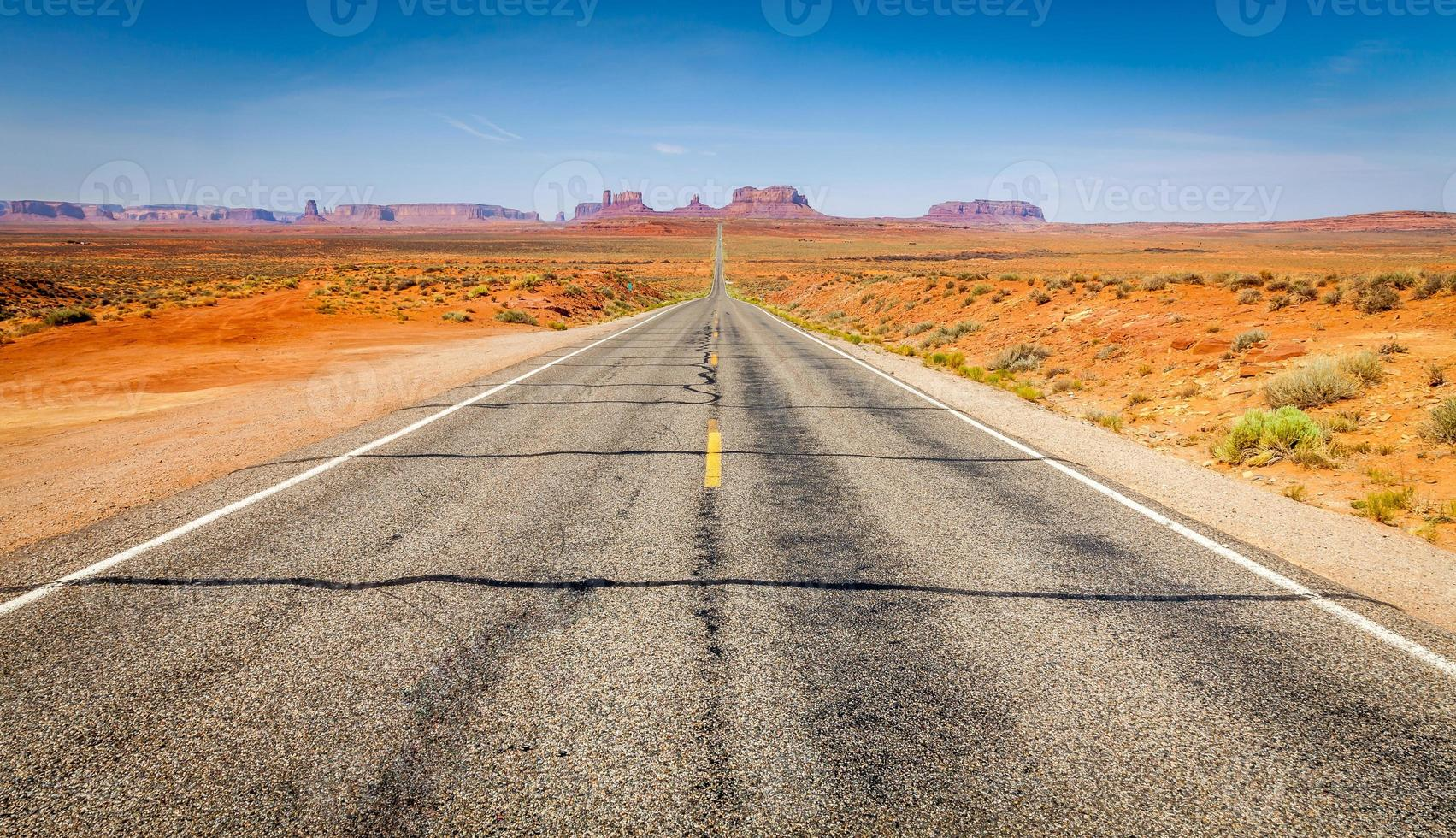 de weg foto