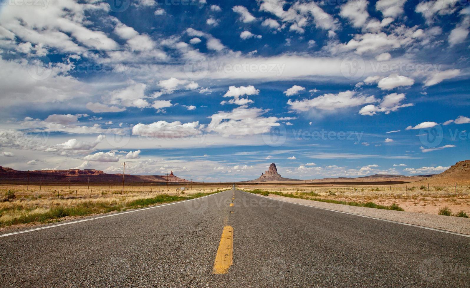 Arizona snelweg panorama foto