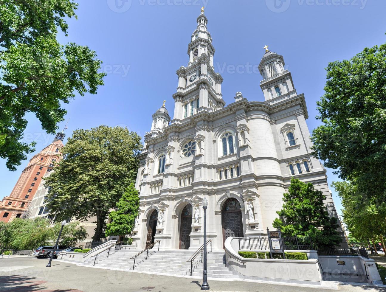 kathedraal van het heilig sacrament, sacramento california foto