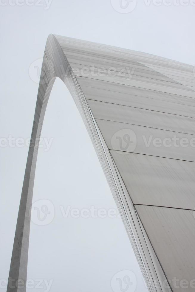 detail van de poortboog in st. Louis Missouri foto