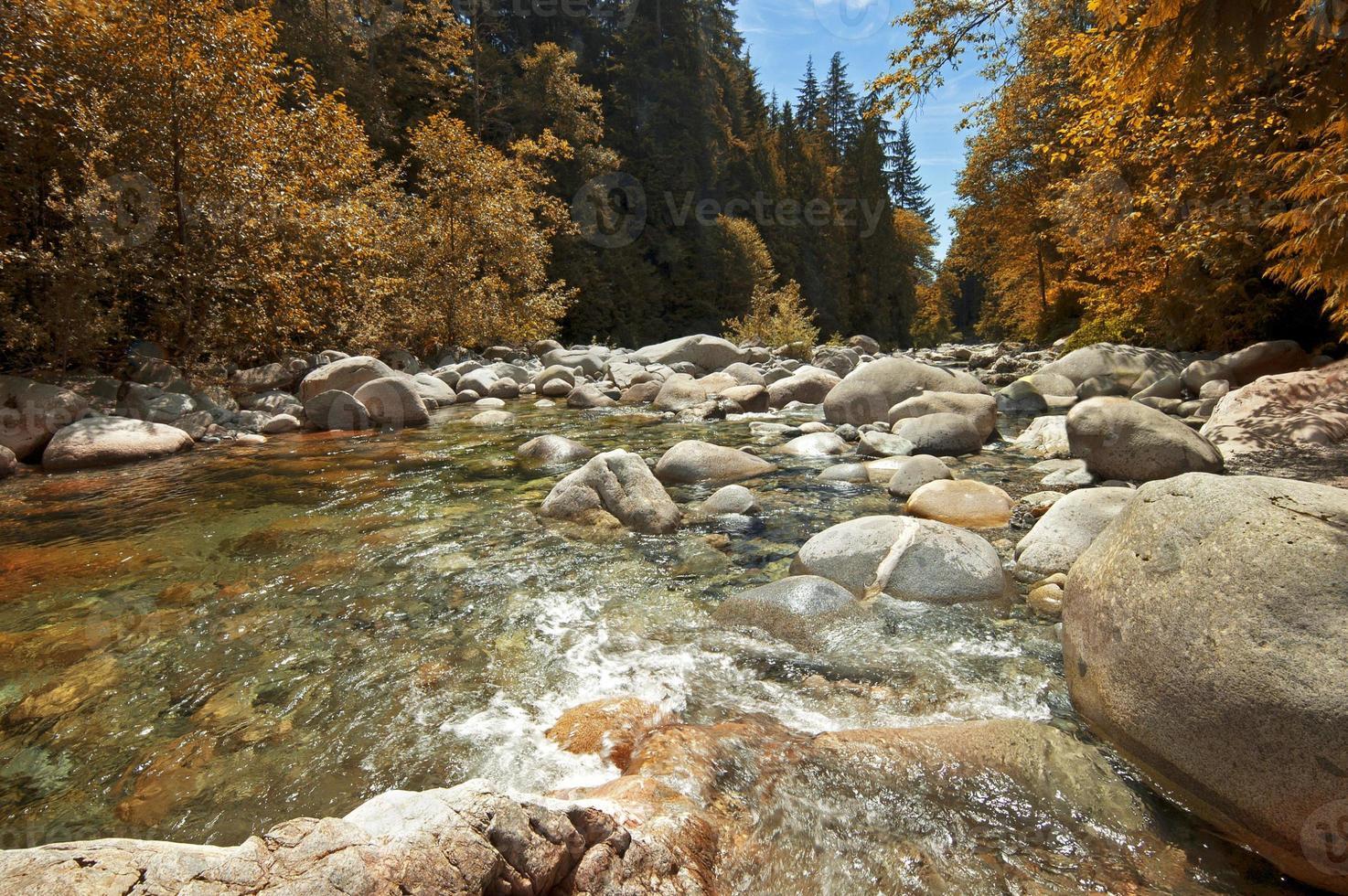 Mamquam rivier foto